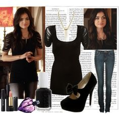 aria montgomery style | Aria montgomery in season 2 episode 4 --Blind Dates - Polyvore