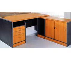 Ada Office Desk Contemporary Office Desk, Modern Contemporary, Office Desks, Orange Grey, Corner Desk, Furniture, Home Decor, Corner Table, Decoration Home