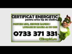 Certificat energetic Timisoara - 0733.371.331 - CErapid.ro - YouTube