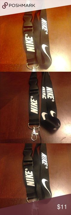 Black and white Nike lanyard Back upon popular demand !! These make perfect VALENTINES DAY gifts ! Authentic Nike keychain and card holders ! BRAND NEW WITHOUT TAGS ! PRICE IS NON NEGOTIABLE UNLESS 2 or more lanyards are bundled ! NO TRADES PLEASE DO NOT ASK Nike Accessories Key & Card Holders