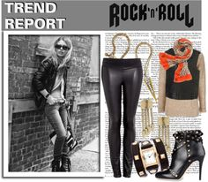 The Fashion Trend Report is out! The rock & roll look is in style this fall - from leather leggings and studded booties to spiked jewelry and animal print accessories. Check out these fab finds and unleash your inner rockstar this season.