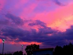sky / clouds / sunset / sunrise / colorful / skies / beautiful / pretty / gorgeous / cloudy / creation / God's painting / aesthetic / pink / purple / orange / yellow / blue / lights / lilac / lavender