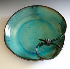 Modern Hostess Platter handmade ceramic dish by ocpottery on Etsy, $55.00