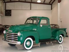 1950 Chevrolet Pick-Up - Love the whitewall tires!