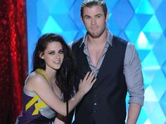 MTV ムービー・アワードに売れっ子セレブが集結!  クリステン・スチュワート&クリス・ヘムズワース/Kristen Stewart&Chris Hemsworth