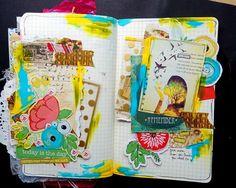 mme art journal idea