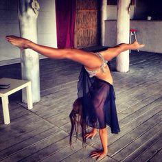 #yoga splits