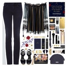 """""""Starry Night✨"""" by ealkhaldi ❤ liked on Polyvore featuring Goldsign, Chloé, Giuseppe Zanotti, Gucci, Sultra, Lizzie Fortunato, Casetify, Givenchy, Vera Bradley and Melissa Joy Manning"""