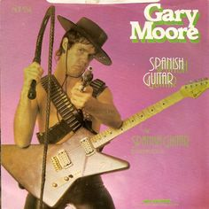Gary Moore... with a sassy little Charvel explorer