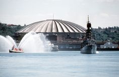 The Kingdome in Seattle.. 1990's