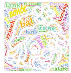 Bohócfej word cloud art created by Csikianyo Word Cloud Art, Bullet Journal, Clouds, Create, Cloud