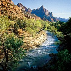 Top wow spots of Zion | Virgin River