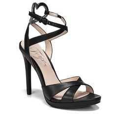 Fergie Women's Naima Dress Sandals (Black Leather)