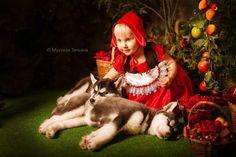 Сказочные детские истории в фотографиях Фотограф Татьяна Мусская
