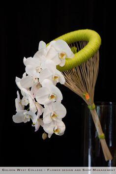 Avant-garde wedding bouquet