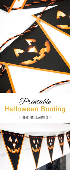 12 Halloween Free Printables Halloween banner, Free printables and - print halloween decorations