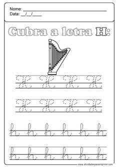 Alphabet Worksheets, Kindergarten Worksheets, Preschool Activities, Sheet Music, Calligraphy, Math Equations, Preschool Literacy Activities, Language Activities, Toddler Learning Activities
