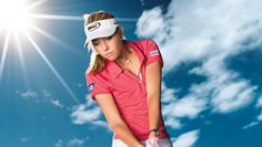 "Paula Creamer, ""The Pink Panther"" plays. Paula Creamer, Golf Warehouse, Pink Panthers, Golfers, Athletes, Plays, Bag, Sexy, Shopping"