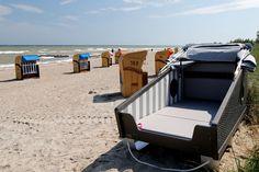 An der Ostsee gibt es jetzt Schlafstrandkörbe! - TRAVELBOOK.de