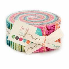 Listing includes 1 For You by Zen Chic Jelly Roll. Jelly Roll includes 40 2.5 strips, 100% Cotton  Find the coordinating fabrics for the For