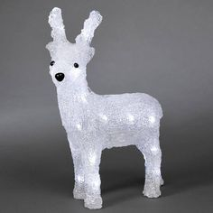 LED Acryl Rendier mannetje met gewei, 130cm   kerst verlichting 2015 ...