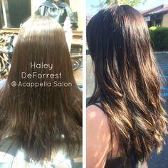 By: Haley Deforrest #AcappellaSalon #haircolor #eufora #euforacolor #hair