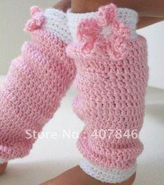 Crochet baby leggings