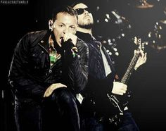 Linkin Park- Chester and Mike