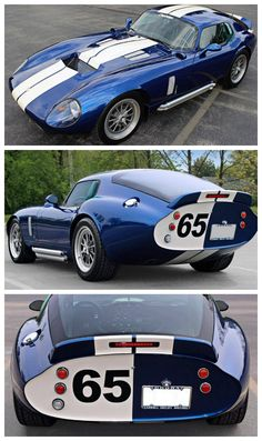 Rare Shelby Cobra Daytona Coupe. Only #65 of #150 made. #FastandFuriousFriday