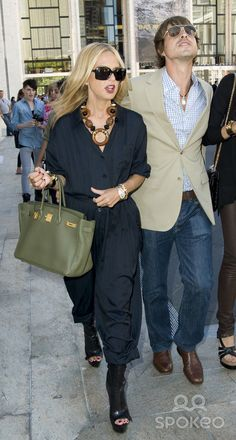 Rachel Zoe and Guest Mercedes-Benz IMG New York Fashion Week Spring/Summer 2011 - celebrities at The Lincoln Center.