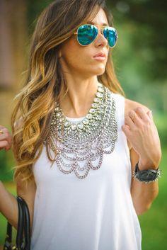 |OUTFIT DETAILS| Shorts: Forever21 [similar / similar – only $28!] | Top: ASOS, old [similiar / similar/ similar]| Chain Necklace: Baublebar | Sparkle Necklace: t+ j designs c/o | Shoes: Keds c/o DSW | Bag: old [super similar– on sale $39!] |Watch:Nixononly $60!| Bracelet: Stella & Dot | Heart Ring:Sincerely Jules|Sunnies: Ray-Ban | Lipstick: YSLin 'Juicy Grapefruit' | Nails:Deborah Lippmann 'Spring Reveries' | SHOP THE LOOK | !function(d,s,id){var e, p…