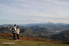 Rutas a pie por Asturias, España. Sierra del Sueve. https://www.desdeasturias.com/asturias/que-ver-y-que-hacer/rutas/