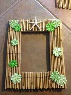 Tropical Decor Bamboo Mirror Item 725a My House Needs