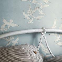 Design tapéták | Sanderson | Vintage 2 Wallpapers kollekció | Seagulls tapéta