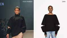 Zara Copies a Young Belgian Desinger's Work (Again) Zara Home, Bell Sleeve Top, Lifestyle, Sweaters, Stuff To Buy, Clothes, Magazine, Accessories, Fashion