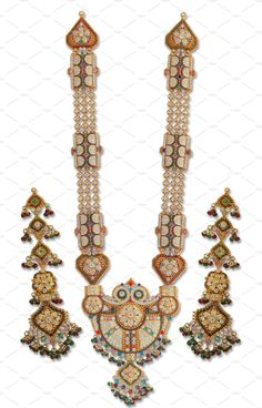 Ramnavami Necklace by Kailash Kumar on Gold Jewelry, Fashion Beauty, Asia, Traditional, Jewels, Gold Jewellery, Jewelery, Jewelry, Jewel