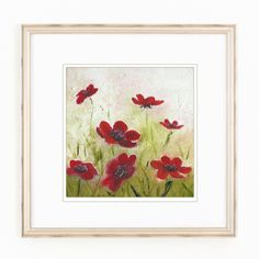 Original Painting. Oil . Wild Flowers. Home Decor. Wall art. by MikaArtstore on…