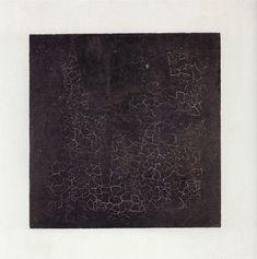 Kasimir Malevich – 1879-1935 – Rusya  Black Square – Siyah Kare  Sanatçının 'Black Square' adını verdiği etkileyici tablosunda siyah kare sezgi, beyaz alan da onun ötesindeki boşluktur. Malevich, bir şeyin değil, hiçbir şeyin resmi olarak bilinen bu tabloyu, aynı dönem 'sıfır biçim' olarak yorumladı.
