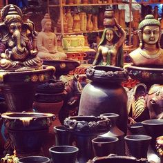 Shilparamam, Hyderabad, India - Handicrafts #india #hyderabad...