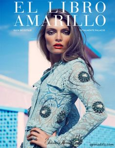 Carola Remer for El Libro Amarillo Magazine (Spring 2014) - http://qpmodels.com/european-models/carola-remer/6734-carola-remer-for-el-libro-amarillo-magazine-spring-2014.html