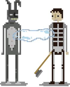 BROTHERTEDD.COM - creaturesofnight: Donnie Darko 8-bits