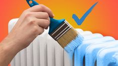 Painting radiators is fun, but there's a few things to know before you paint any radiator. Learn what they are in this how to paint a radiator article. Painting Radiators, Old Radiators, Diy Radiator Cover, Painted Radiator, Old Sheets, Drip Painting, Paint Drying, Painters Tape, Next At Home