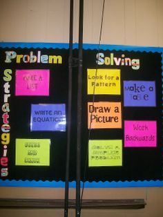 Math = Love: Foldables, Templates, Graphic Organizers, and Downloads....problem solving PDF posters