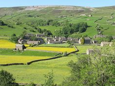 Gunnerside in Swaledale South Yorkshire, Yorkshire Dales, England Uk, Travel England, British Countryside, Beautiful Landscapes, Landscape Photography, Britain, Places To Go