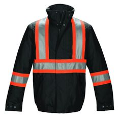 CX2 Hi-Vis Insulated Poly Canvas Bomber L01200 from X-it Corporate