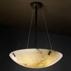 Justice Design Group Lumenaria Collection Pendant Light | FAL-9664-35-MBLK-F2 | Destination Lighting