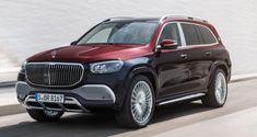 Mercedes-Benz Gives Maybach GLS the AI Treatment - car logos