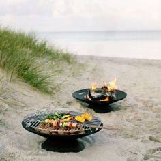 Helios Fire Bowl Set | fire pit & charcoal grill