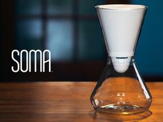 Soma: Beautifully innovative all-natural water filters by Soma, via Kickstarter.