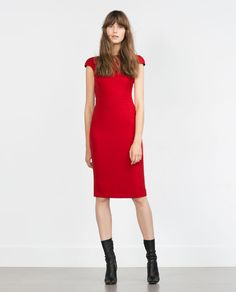 Image 1 of DRESS WITH ZIPS AT THE BACK from Zara